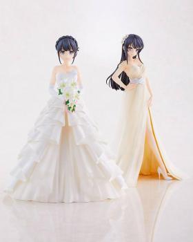 Rascal Does Not Dream of Bunny Girl Senpai PVC Figure - Shoko Mahinohara Wedding Ver. 1/7