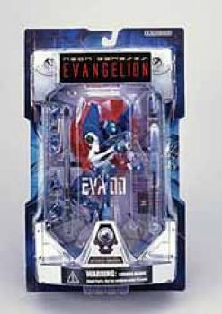 Neon genesis evangelion EVA unit 00 Blue action figure Launch tube package