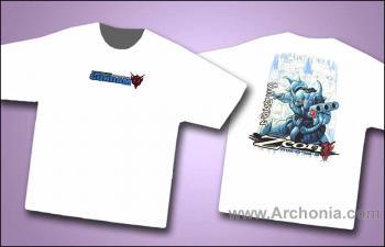 Gundam Zeon fighters T-shirt XL