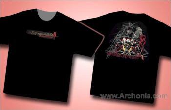 Gundam deathscythe destruction T-shirt XL
