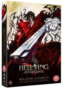 Hellsing Ultimate vol 1-10 Complete Collection DVD UK