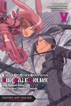 Sword Art Online Alternative Gun Gale Online vol 05 Light Novel