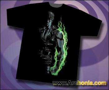 Fist of the north star Burning rage T-shirt XL