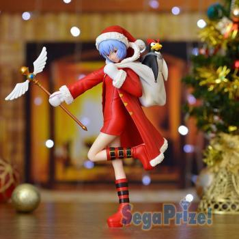 Evangelion Premium PVC Figure - Ayanami Rei Christmas