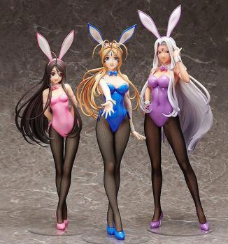 Oh My Goddess! PVC Figure - Belldandy Bunny Ver. 1/4
