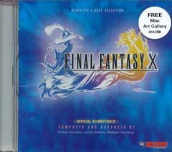 Final Fantasy X official soundtrack CD