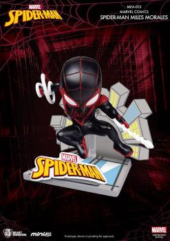 MARVEL COMICS MINI EGG ATTACK FIGURE - SPIDER-MAN MILES MORALES
