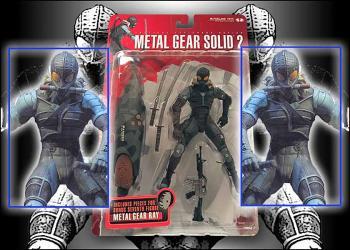 Metal gear solid 2 Sons of liberty figure Raiden