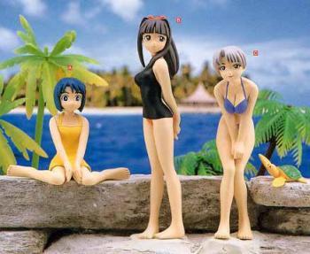 Love Hina Summer beach collection 2 figure A Shinobu