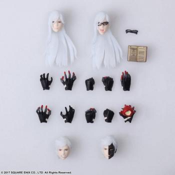 Nier Automata Bring Arts Action Figures - Adam & Eve 16 Cm