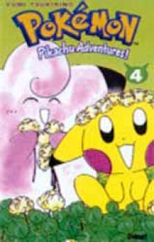 Pikachu adventures tome 4