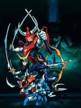 Ronin warrior vol 01 DVD