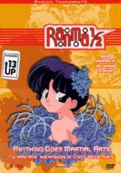 Ranma 1/2 Season 02 Anything goes martial arts DVD box set