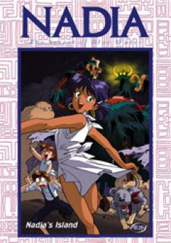 Nadia Secret of Blue water vol 07 Nadia's island DVD
