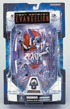 Neon genesis evangelion EVA unit 04 Silver figure Launch tube package