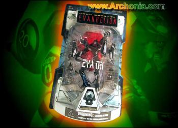 Neon genesis evangelion EVA unit 03 Black figure Launch tube package