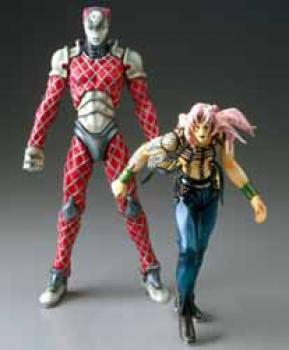 Jojos bizarre adventure Action figure 2-pack Diavolo and King Crimson