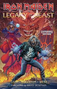 IRON MAIDEN LEGACY OF THE BEAST EXPANDED ED TP VOL 01