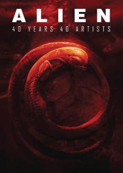 Alien 40 Years 40 Artists HC (Hardcover)