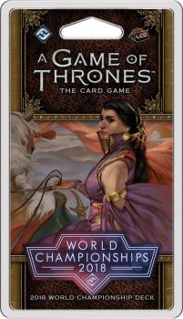 A Game of Thrones LCG 2nd Edition - 2018 World Championship Deck
