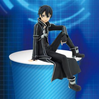 Sword Art Online Alicazition Noodle Stopper PVC Figure - Kirito