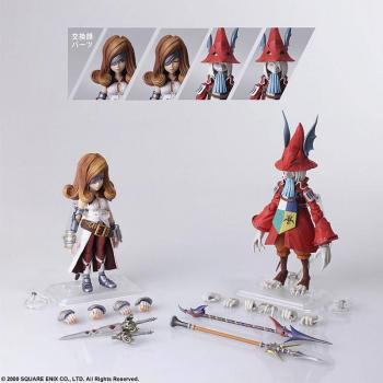 Final Fantasy Ix Bring Arts Action Figures - Freya Crescent & Beatrix