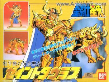 Saint Seiya Gold figure 02 Taurus