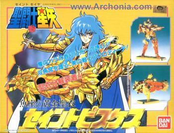 Saint Seiya Gold figure 12 Pisces
