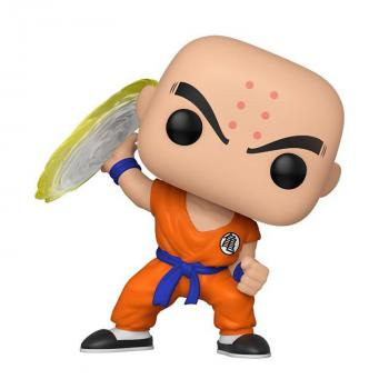 Dragon Ball Z POP Vinyl Figure - Krillin with Destructo Disc