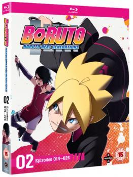 Boruto Naruto Next Generation Set 02 (Episodes 14-26) Blu-Ray UK