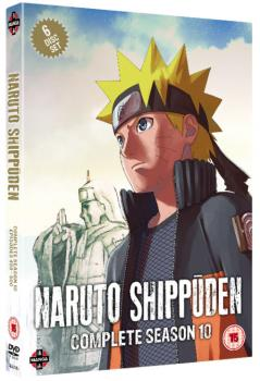 Naruto Shippuden - Complete Collection 10 DVD UK
