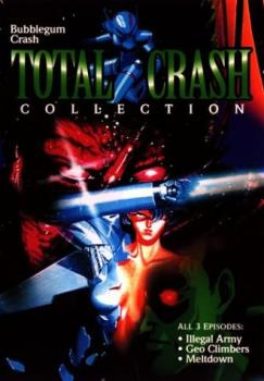 Bubblegum Crash Total crash collection DVD