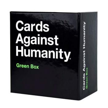 Cards Against Humanity Card Game Green Expansion - Intl Edition