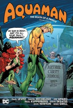 AQUAMAN: DEATH OF A PRINCE (DELUXE EDITION) (HARDCOVER)