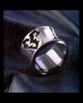 FFX Tidus Silver ring size 9 1/2