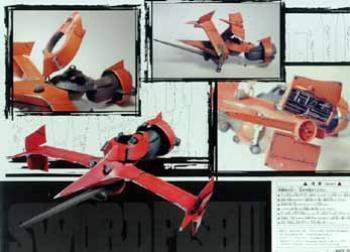 Cowboy Bebop Swordfish II prepainted resin model kit