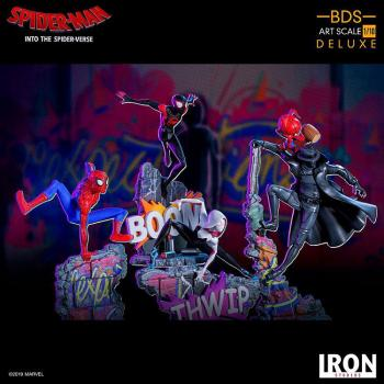 SPIDER-MAN: INTO THE SPIDER-VERSE BDS ART SCALE DELUXE STATUE - MILES MORALES 1/10