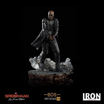 SPIDER-MAN: FAR FROM HOME BDS ART SCALE DELUXE STATUE - NICK FURY 1/10