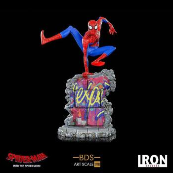 SPIDER-MAN: INTO THE SPIDER-VERSE BDS ART SCALE DELUXE STATUE - PETER B. PARKER 1/10