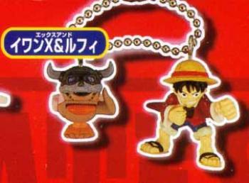 One piece Key holder 7 Luffy