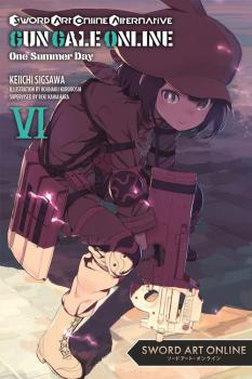 Sword Art Online Alternative Gun Gale Online vol 06 Light Novel