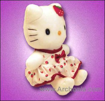 Hello Kitty Strawberry Style Doll B