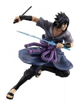 Naruto Shippuden G.E.M. Series PVC Figure - Uchiha Sasuke Shinobi World War Ver.