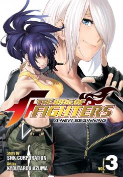 The King of Fighters: A New Beginning vol 03 GN Manga