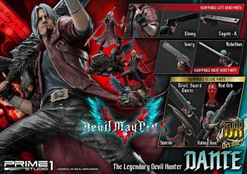 DEVIL MAY CRY 5 STATUE - DANTE DELUXE VER. 1/4