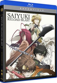 Saiyuki Reload Blast Essentials Blu-Ray