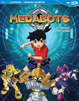 Medabots Season 01 Blu-Ray