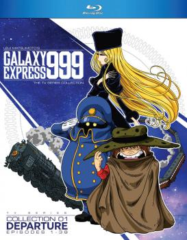 Galaxy Express 999 TV Series Collection 01 Blu-Ray