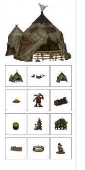 Pathfinder Battles Legendary Adventures Goblin Village Premium Set