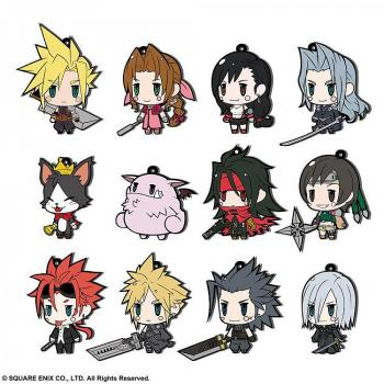Final Fantasy Rubber Charms 7 Cm Assortment Ff Vii Extended Edition (Full Box)